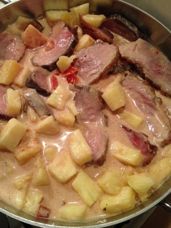 1. début cuisson casserole
