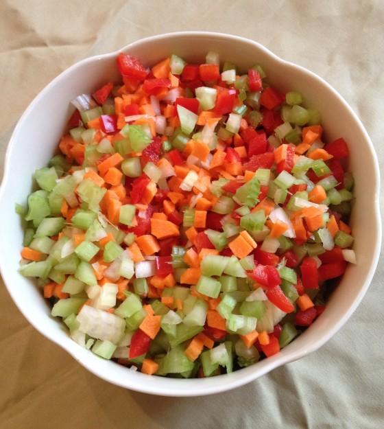 3. legumes coupés