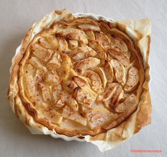 3. tarte cuite en entier