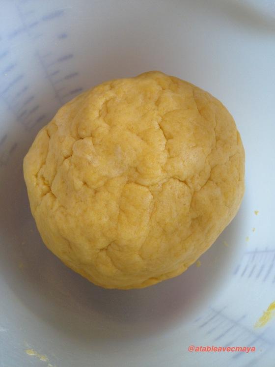 4. boule de pâte
