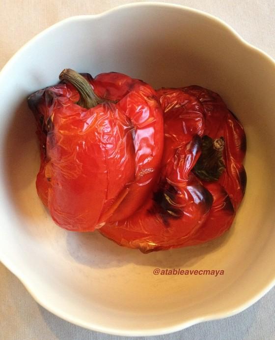 2. poivrons grillés
