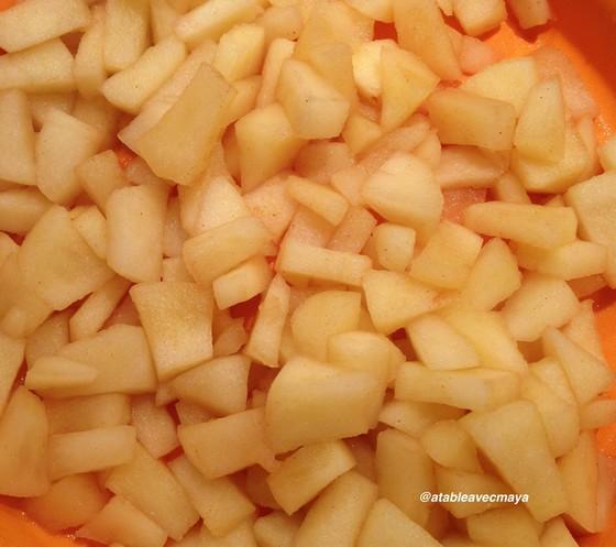2. pommes cuites