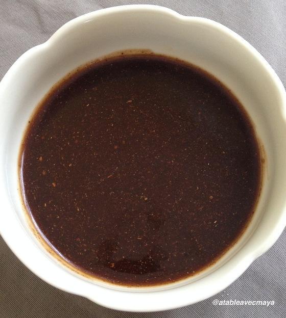 2. sauce marinade