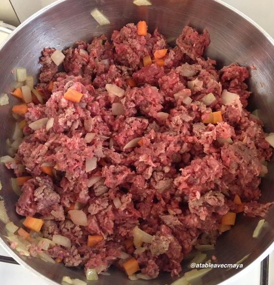 3. debut cuisson viande