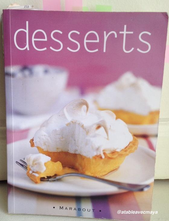 livre dessert