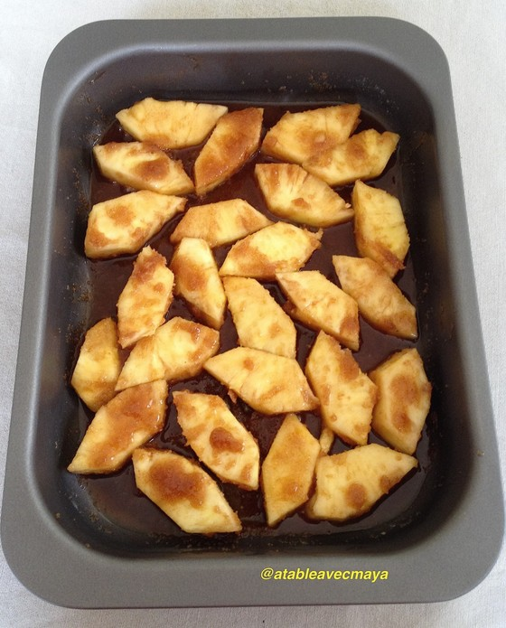 6. ananas ds plat sucre
