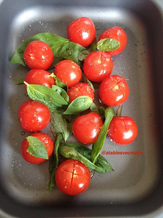 2. tomates pretes a enfourner