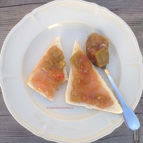 10. tartine confiture
