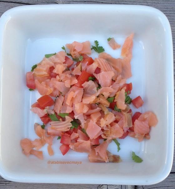 3. saumon fume