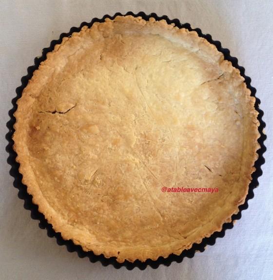 8. Pâte cuite sortie du four