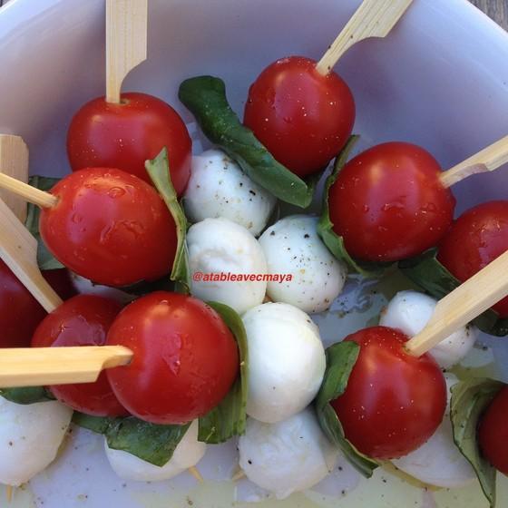 2. tomate mozza de pres
