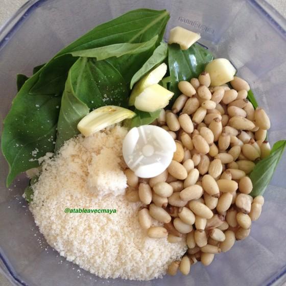 2. ingredients pesto