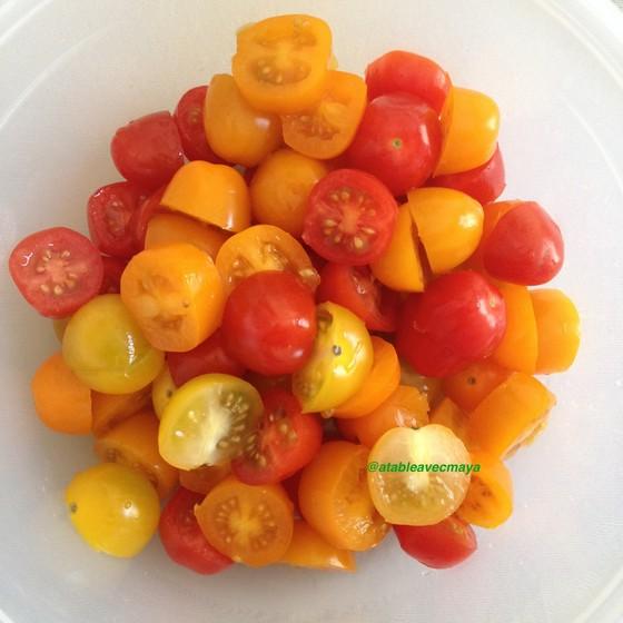 5. les tomates