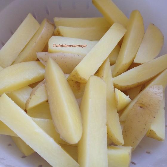4. frites précuites