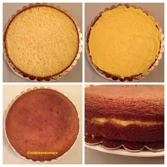 7. montage lemon cake