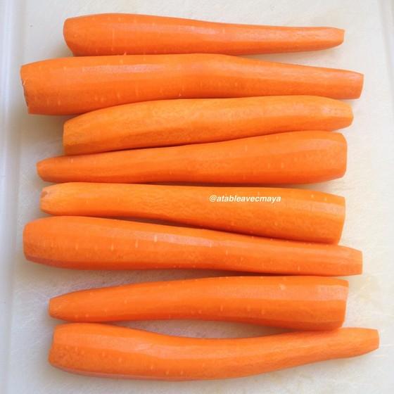 2. carottes