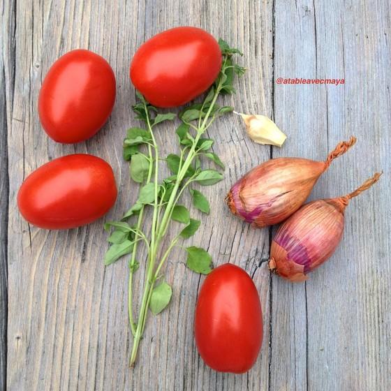 2. ingredients tomates