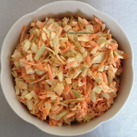 1. coleslaw