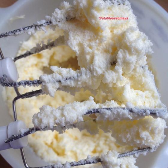 2. beurre et sucre battus