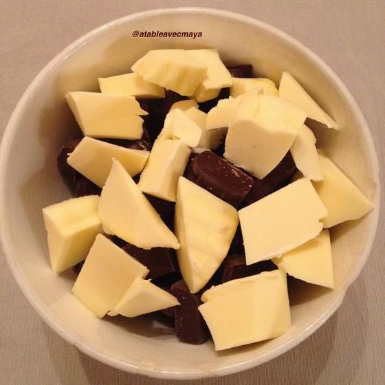 2. chocolat et beurre