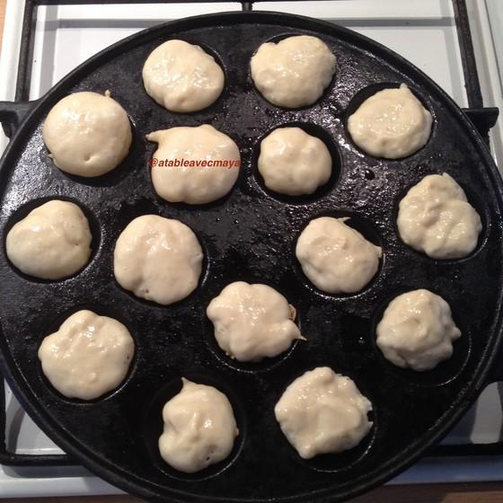 6. début cuisson