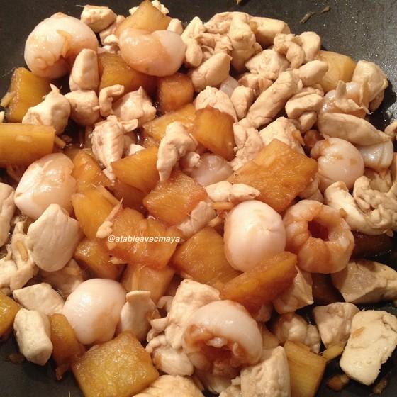 1. wok poulet