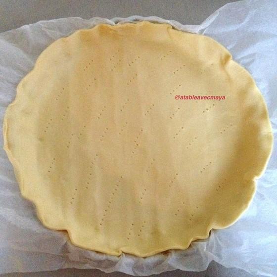 4. on pique la pâte