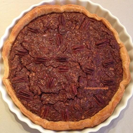 6. tarte aux noix de pécan
