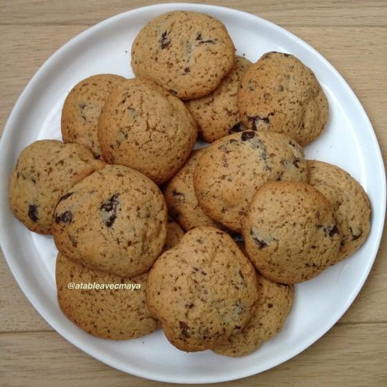 1. assiette de biscuits