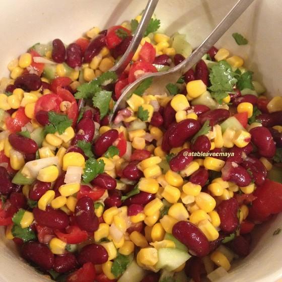 1. salade melangee
