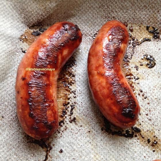 7. saucisses cuites