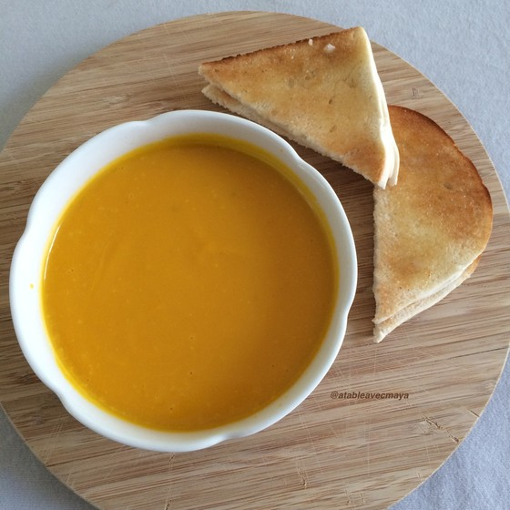 1. bol veloute courge coco
