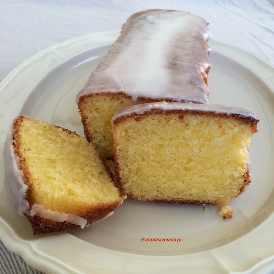 1. cake au citron coupe