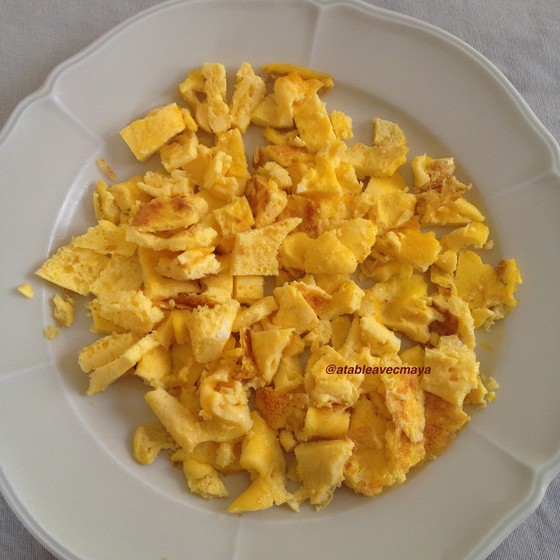 3. omelette coupee