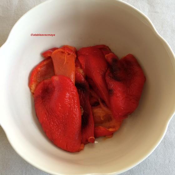 6. poivons epluches