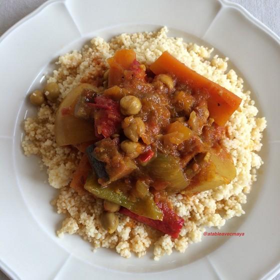12. assiette couscous sans viande