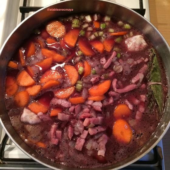 8. début cuisson