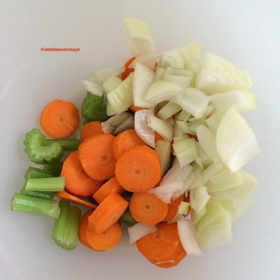 2. légumes morceaux