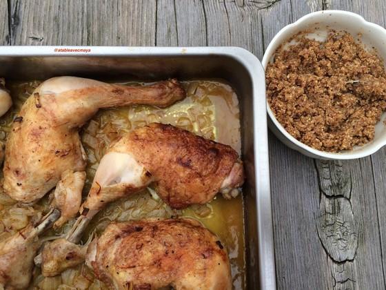 5. poulet av noisettes et noisettes