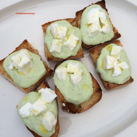8. assiette de bruschetas préparées