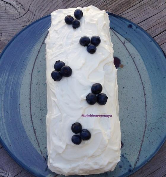 10. cake glacé et décoré