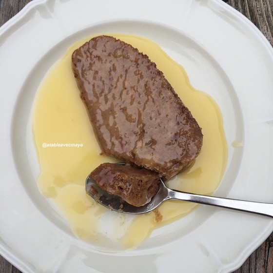 1. sticky toffee pudding on attaque