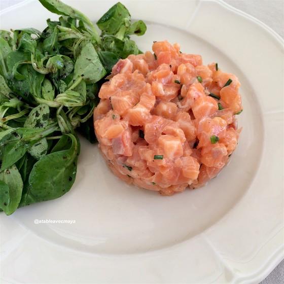 1. tartare saumon