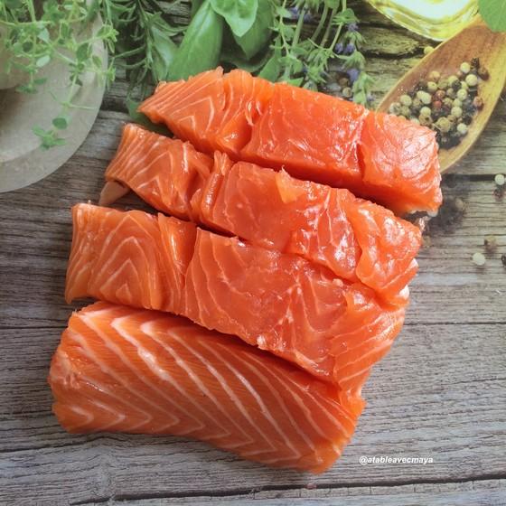2. Tartare sumon - saumon