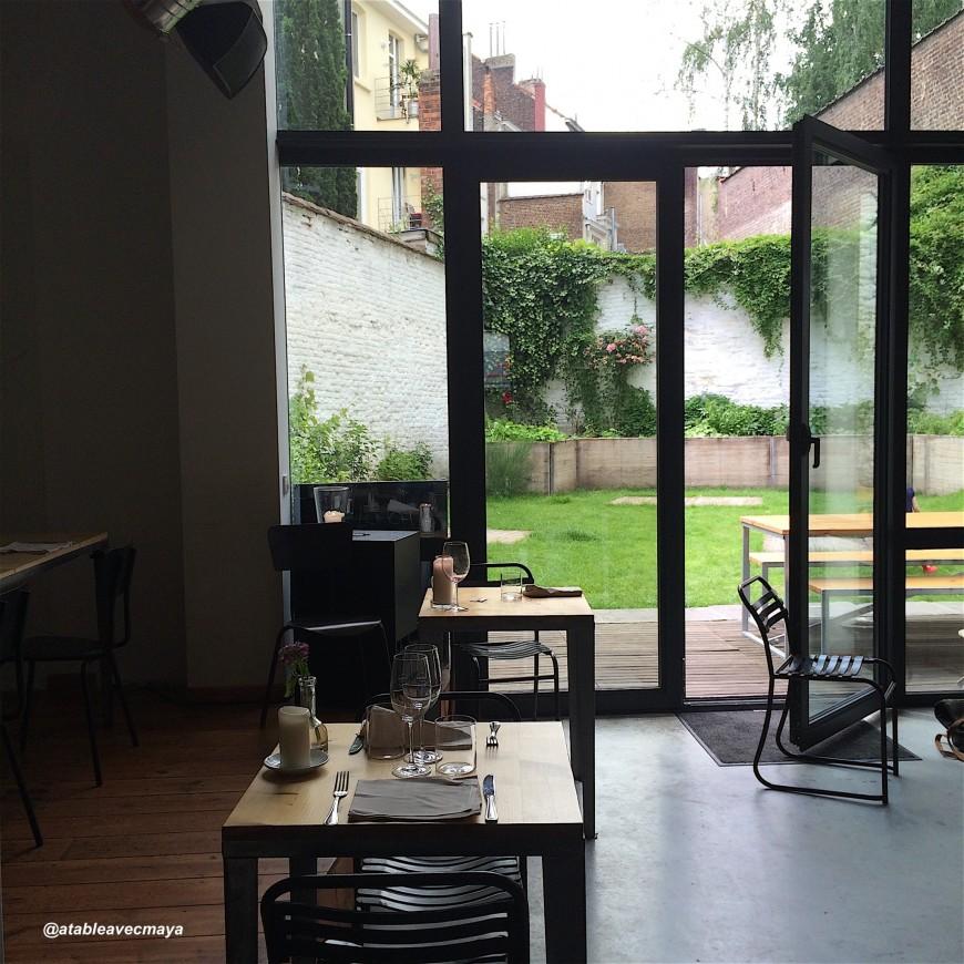 Resto terrasse jardin bruxelles nanterre maison design for Restaurant avec jardin 92