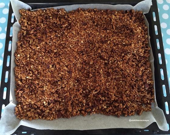 7. granola sortie du four