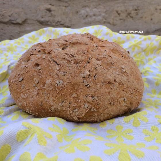 1. pain à la cocotte - pain cuit