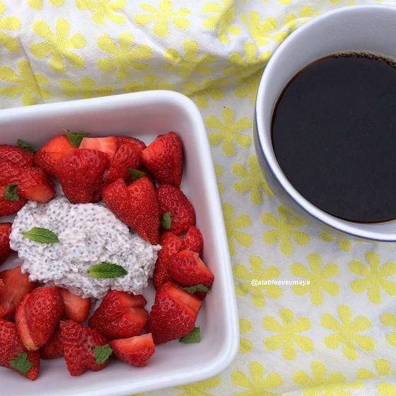 5. pudding chia - petit dejeuner