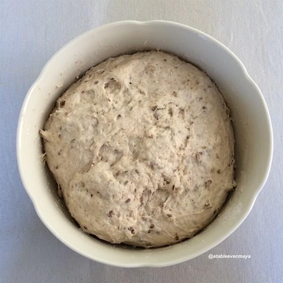 6. pain à la cocotte - après 1ere levee