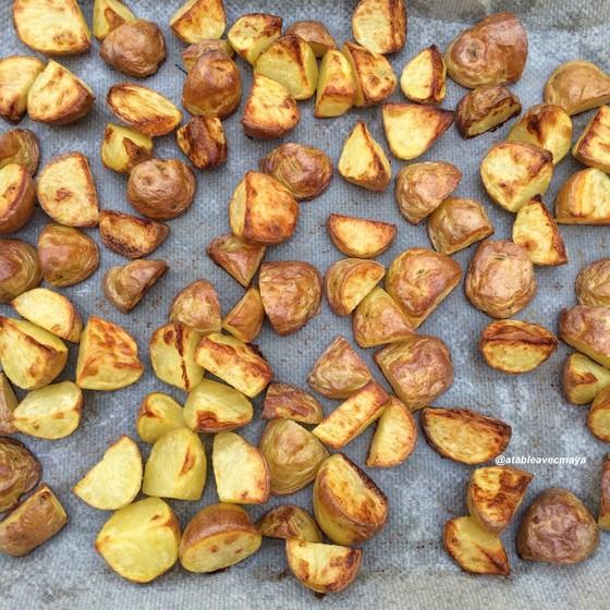 3. patatas bravas - pdt cuites